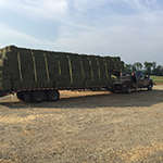 Loaded Hay Bales