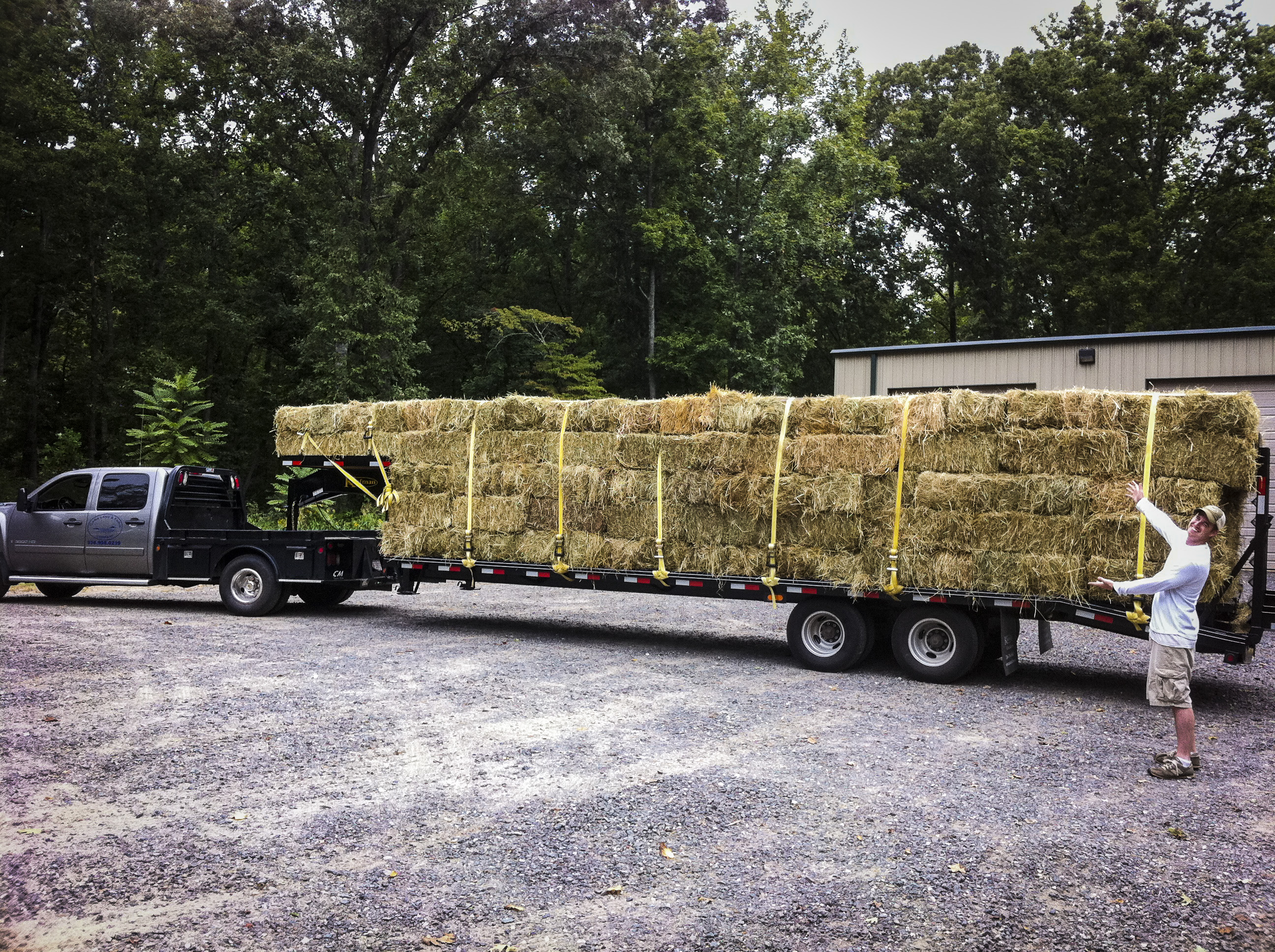 Hay at Cana Land and Farm Company