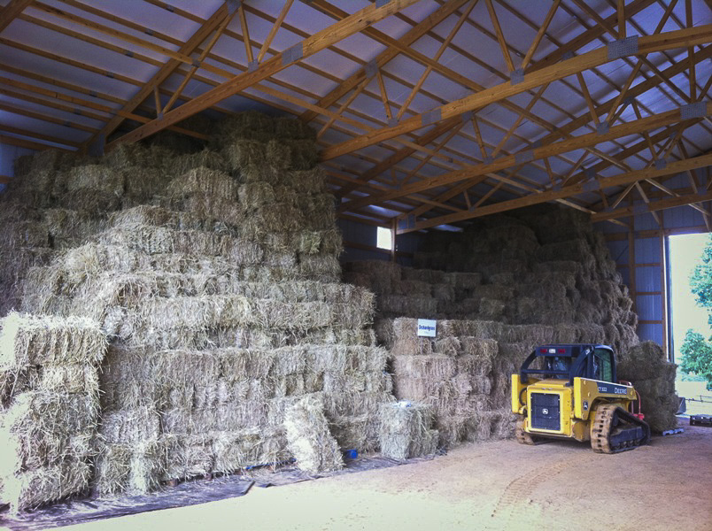 Image of Hay Stacks